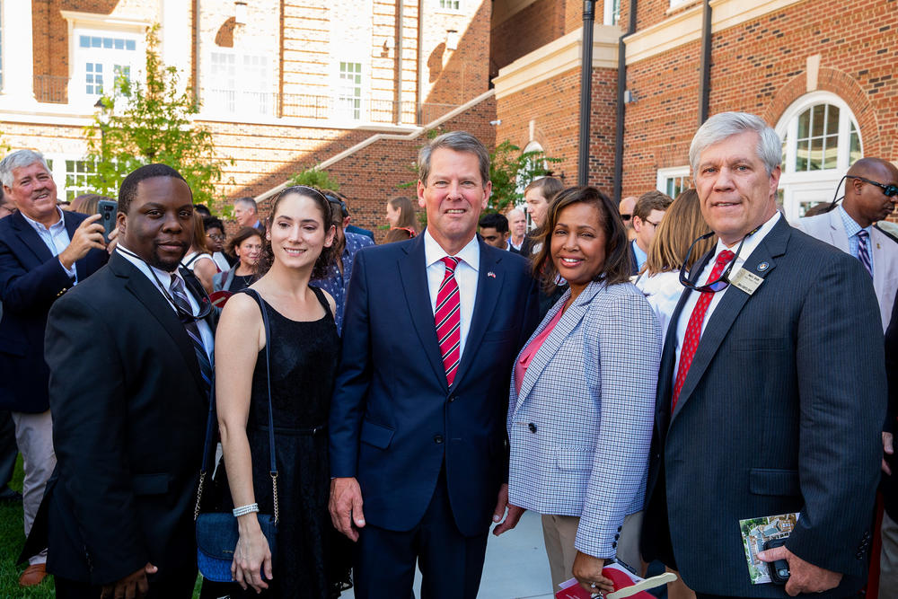 Photo of GSFIC Staff with Governor Kemp
