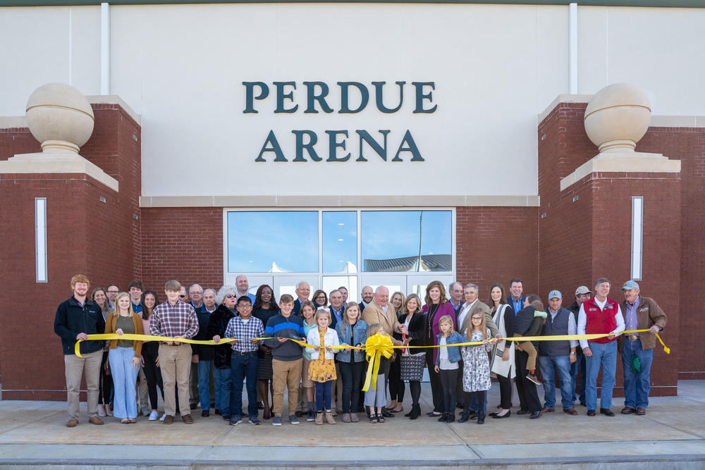 Dedication of Perdue Arena