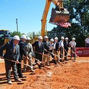 Photo of ground breaking ceremony