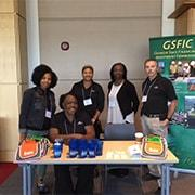 Photo of GSFIC display at GPAG Reverse Trade Show