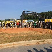 Photo of Lanier Technical College new campus groundbreaking