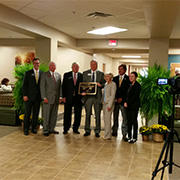 Photo of Southeastern Technical College re-dedication of building two on the Swainsboro campus