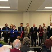 Photo of ribbon cutting ceremony