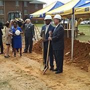 Photo of Albany State University Fine Arts Center Groundbreaking
