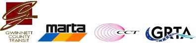 Graphic of transportation logos