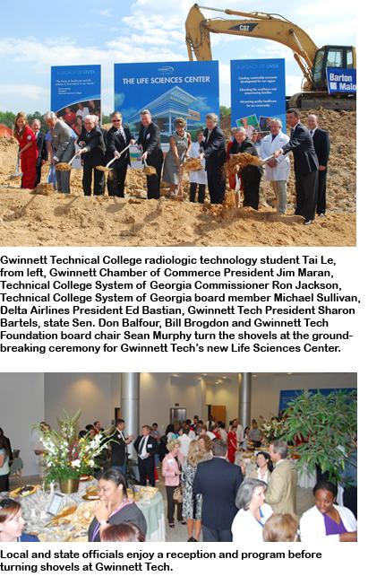 Gwinnett Tech Breaks Ground On New Life Sciences Center Georgia State Financing And Investment Commission